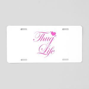 Baby Girl THUG LIFE Aluminum License Plate