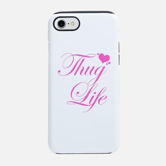 Thug life phone cases cafepress baby girl thug life iphone 7 tough case voltagebd Images