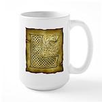 Celtic Letter L Large Mug