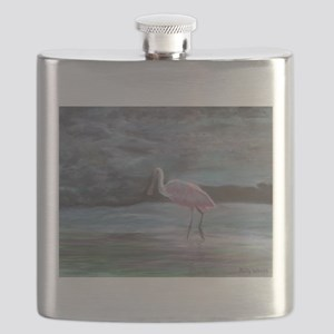 THE REAL FLORIDA-Roseate Spoonbill Flask