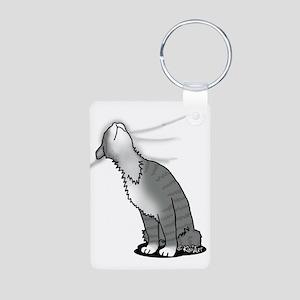 Kitty Love Aluminum Photo Keychain
