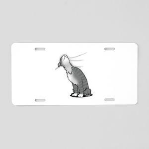 Kitty Love Aluminum License Plate