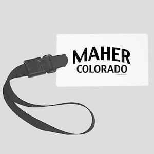 Maher Colorado Luggage Tag