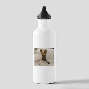 Yorkie Sleepy Stainless Water Bottle 1.0L