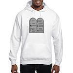 Ten Commandment Hooded Sweatshirt