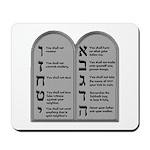 Ten Commandment Mousepad
