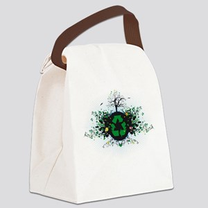 Nature Recycles Canvas Lunch Bag