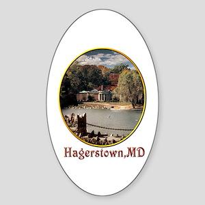 Hagerstown Museum Oval Sticker