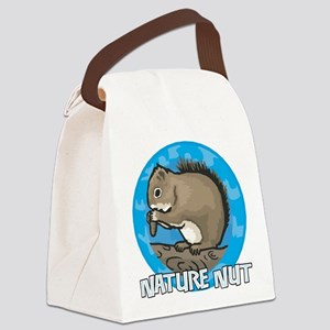 Nature Nut Canvas Lunch Bag