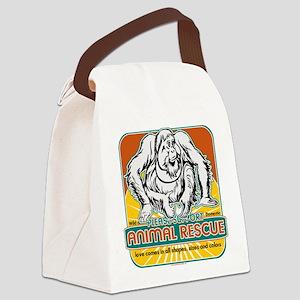 animalrescueoranatan.png Canvas Lunch Bag