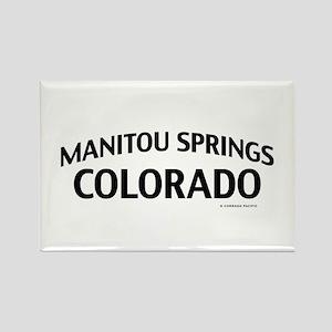 Manitou Springs Colorado Rectangle Magnet