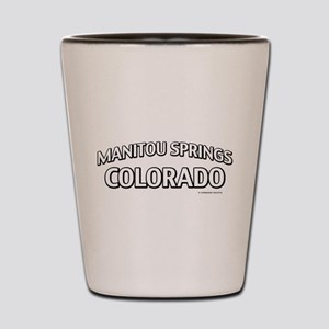 Manitou Springs Colorado Shot Glass