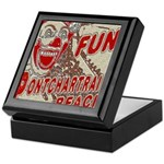 Pontchartrain Beach Clown Keepsake Box