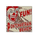Pontchartrain Beach Clown Sticker