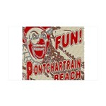 Pontchartrain Beach Clown Wall Decal