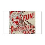 Pontchartrain Beach Clown Wall Decal