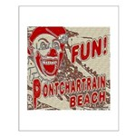 Pontchartrain Beach Clown Posters