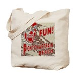 Pontchartrain Beach Clown Tote Bag