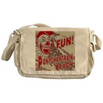 Pontchartrain Beach Clown Messenger Bag