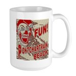 Pontchartrain Beach Clown Mug