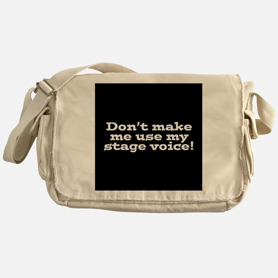 Stage Voice Messenger Bag