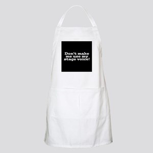 Stage Voice Apron