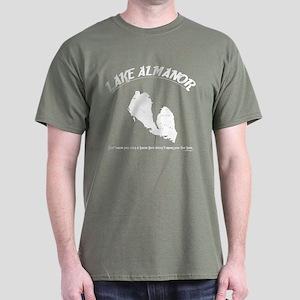 Lake Almanor Dark Tee