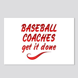 Baseball Coaches Postcards (Package of 8)