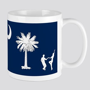 The South Carolina Shag Flag Mugs