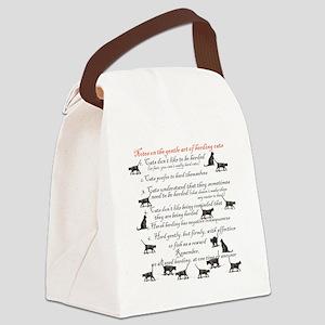 herdingcats4 Canvas Lunch Bag