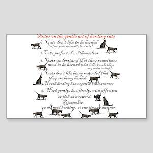 herdingcats4 Sticker