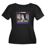 Diz on Guard Plus Size T-Shirt