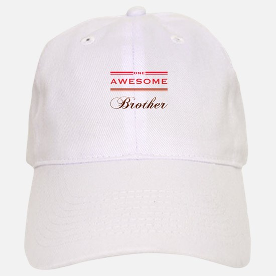 One Awesome Brother Baseball Baseball Cap