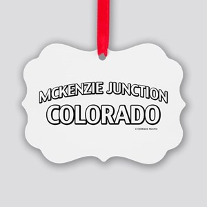 McKenzie Junction Colorado Ornament