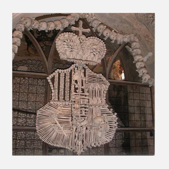 Awesome Ossuary Tile Coaster