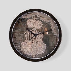 Awesome Ossuary Wall Clock