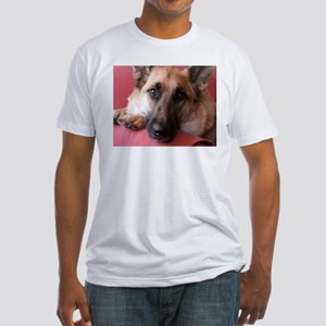 German Shepherd Fitted T-Shirt