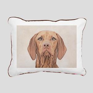 Vizsla Rectangular Canvas Pillow