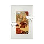 Making Beautiful Music Rectangle Magnet (100 pack)