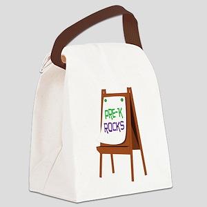 Pre-K Rocks Canvas Lunch Bag