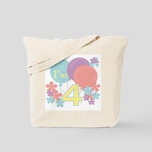 4th Pastel Birthday Tote Bag