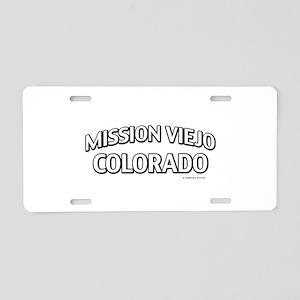 Mission Viejo Colorado Aluminum License Plate