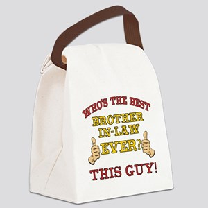 Best Brother-In-Law Ever Canvas Lunch Bag