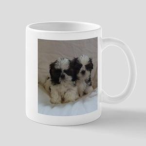 Two Shih Tzu Puppies Mug