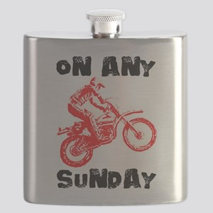 ON ANY SUNDAY Flask