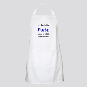 teach flute Apron
