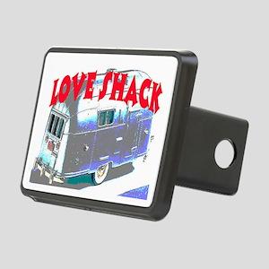 LOVE SHACK (TRAILER) Rectangular Hitch Cover