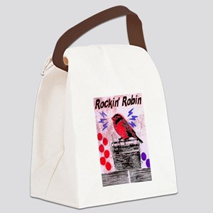 ROCKIN' ROBIN Canvas Lunch Bag