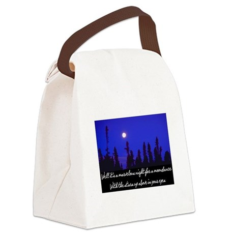 MOONDANCE Canvas Lunch Bag