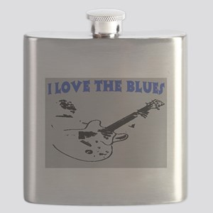 I LOVE THE BLUES Flask